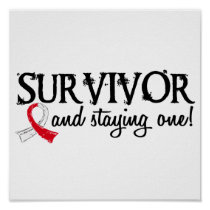 Oral Cancer Survivor 18 Poster