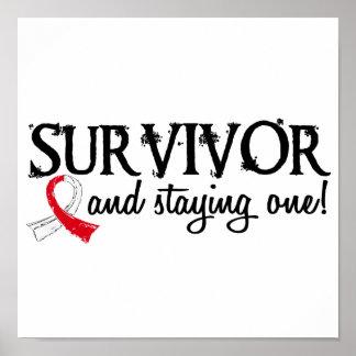 Oral Cancer Survivor 18 Poster
