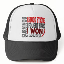 Oral Cancer Survivor 4 Trucker Hat