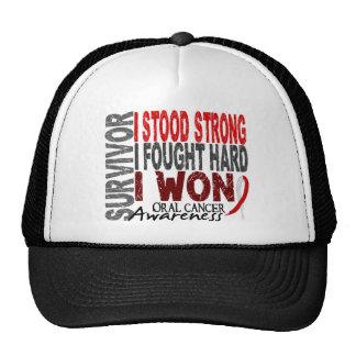 Oral Cancer Survivor 4 Trucker Hat