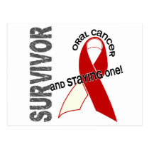 Oral Cancer Survivor Postcard