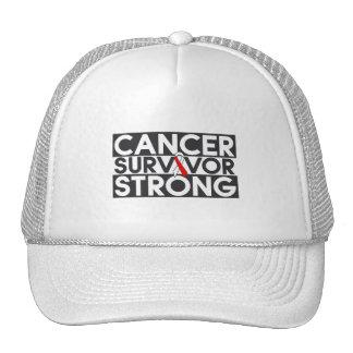 Oral Cancer Survivor Strong Trucker Hat