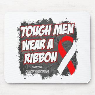 Oral Cancer Tough Men Wear A Ribbon Mouse Pad