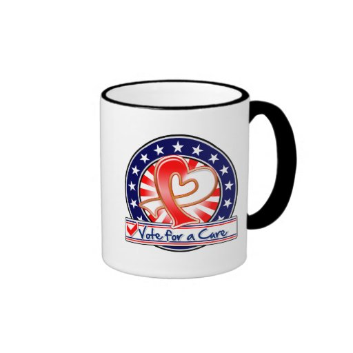 Oral Cancer Vote For a Cure Mugs