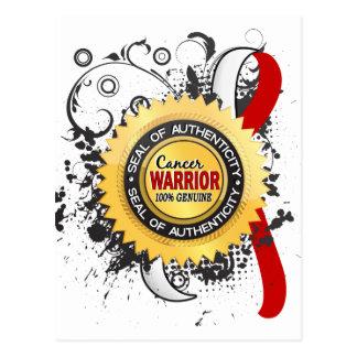 Oral Cancer Warrior 23 Postcard