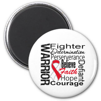 Oral Cancer Warrior Collage Magnets
