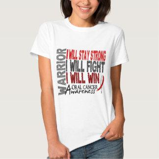 Oral Cancer Warrior Shirt