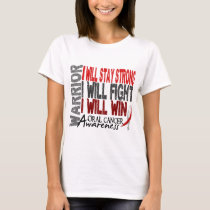 Oral Cancer Warrior T-Shirt