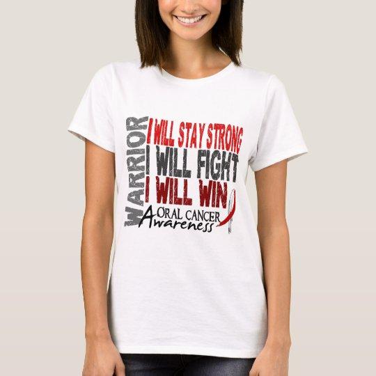 Oral Cancer Warrior T-Shirt