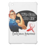 Oral Cancer We Can Do It Rosie The Riveter iPad Mini Cover