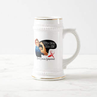 Oral Cancer We Can Do It Rosie The Riveter Mug