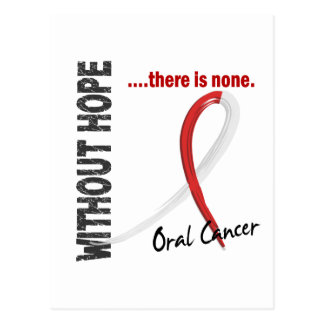 Oral Cancer Without Hope 1 Postcard