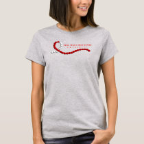 Oral, Head, and Neck Cancer Awareness Ribbon T-Shirt