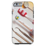 Oral Hygiene - Electric toothbrush, manual Tough iPhone 6 Case