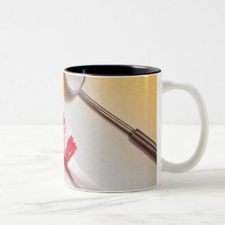 Oral Hygiene - Electric toothbrush, manual Two-Tone Coffee Mug