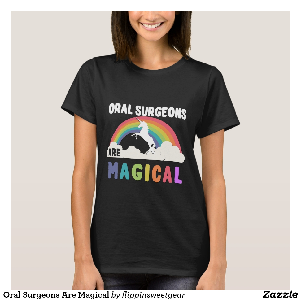 Oral Surgeons Are Magical T-Shirt - Best Selling Long-Sleeve Street Fashion Shirt Designs