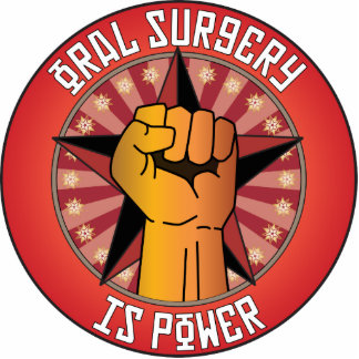 Oral Surgery Is Power Photo Cutout
