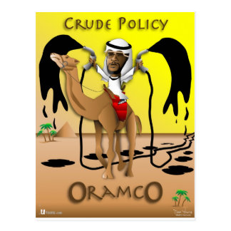 ORAMCO Crude Policy Postcard