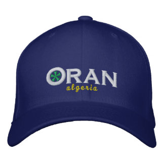 Oran City Algeria Embroidered Baseball Hat