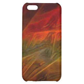 orang064 RED ABSTRACT DIGITAL BACKGROUND TEMPLATE Case For iPhone 5C