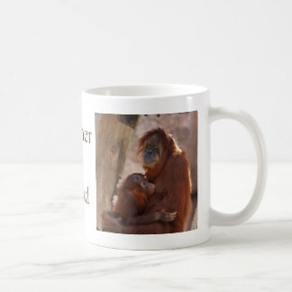 Orang Mother & Child 7372.png Classic White Coffee Mug