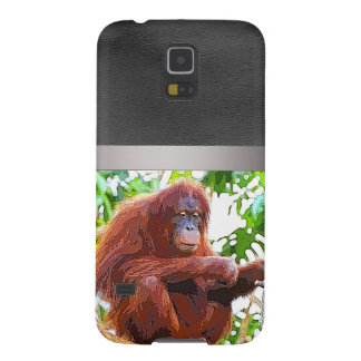 orang painting galaxy s5 covers