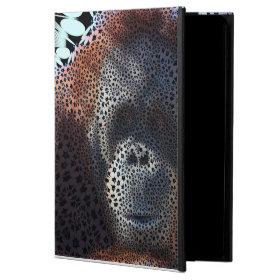 Orang Utan, Funky flowers (C) Powis iPad Air 2 Case