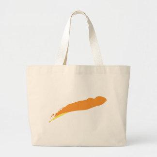 orange-12-or large tote bag