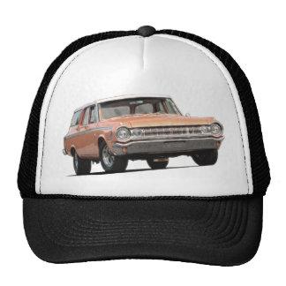 Orange 1964 Dodge Station Wagon Trucker Hat