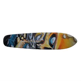 orange 1 custom skate board