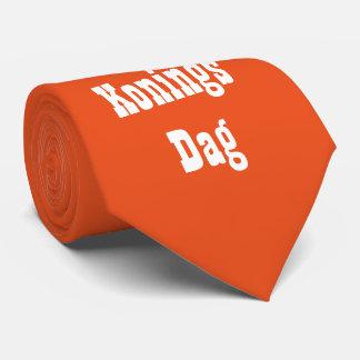 Orange 2016 king days tie