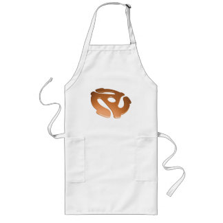 Orange 3D 45 RPM Adapter Long Apron
