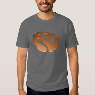 Orange 3D 45 RPM Adapter T-Shirt
