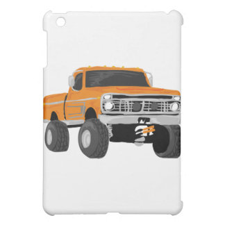 Orange 4x4 Mud Truck iPad Mini Covers