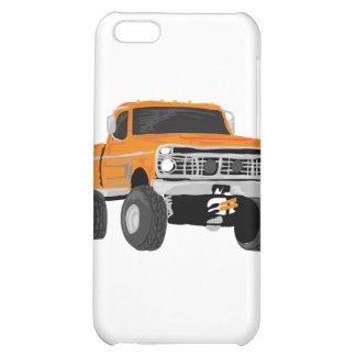 Orange 4x4 Mud Truck Case For iPhone 5C