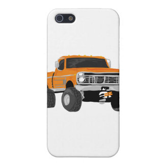Orange 4x4 Mud Truck iPhone 5 Covers