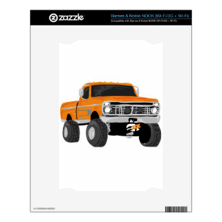Orange 4x4 Mud Truck NOOK Skins