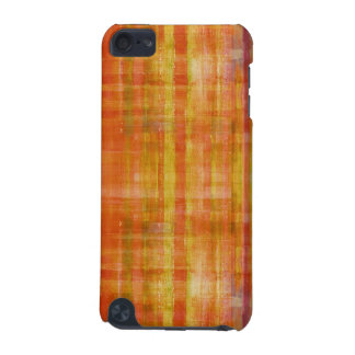 Orange Abstract Art Striped Pattern iPod Touch Cas iPod Touch 5G Cover