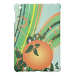 Orange Abstract  Case For The iPad Mini