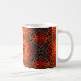 Orange Abstract Mug