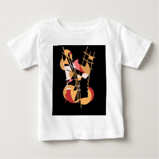 Orange abstraction baby T-Shirt