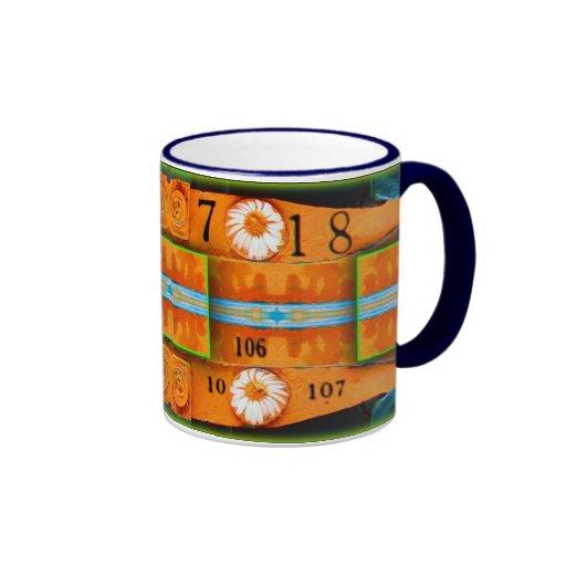 Orange Abstraction  Coffee Mugs
