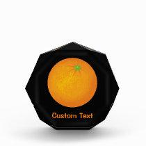 Orange Acrylic Award