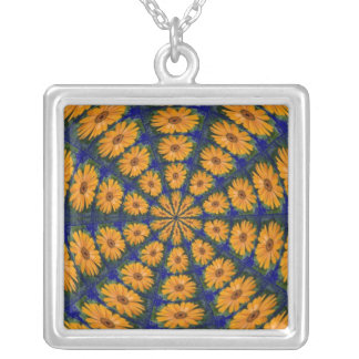 Orange African Daisy, Necklace