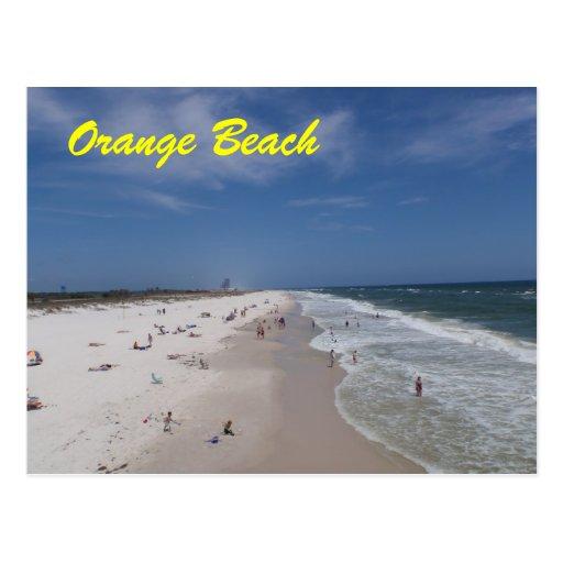 Orange alabama postcard