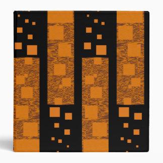 Orange alert float abstract Halloween black box Binder