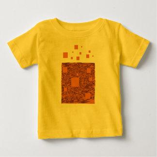 Orange alert float abstract Halloween black box Infant T-shirt