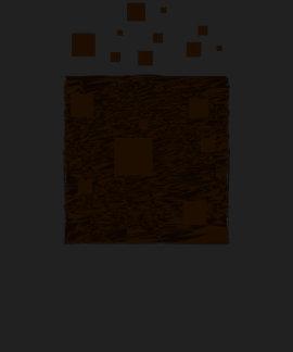 Orange alert float abstract Halloween black box Tee Shirts