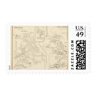 Orange, Alexandria Postage Stamp