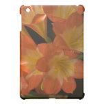 Orange Amaryllis Case For The iPad Mini